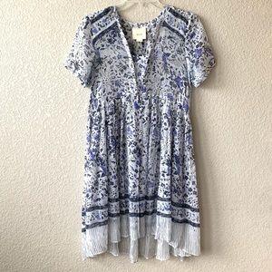 Maeve | Anthropologie Morning Glory Swing Dress